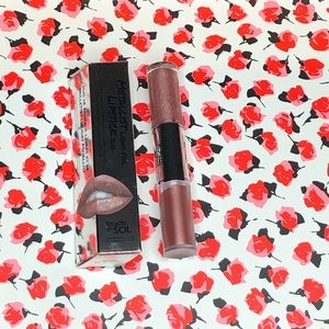 Touch in Sol Penny Metallic Lipstick Duo NWT